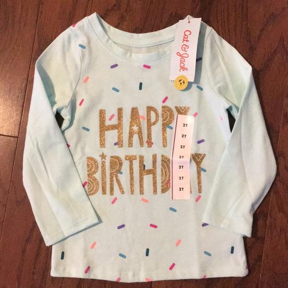 Happy Birthday Sprinkle Shirt